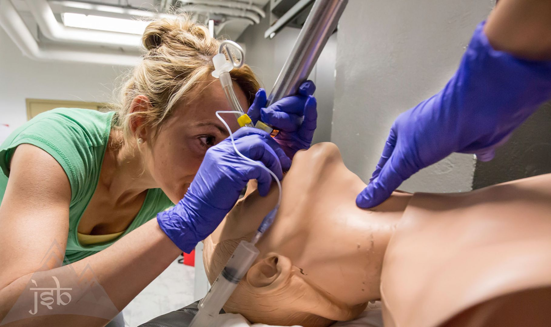 Technique d'intubation PHTLS advanced (traumatologie)